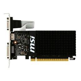 Видеокарты - Видеокарта MSI GT 710 2Gb (GT 710 2GD3H LP), 0