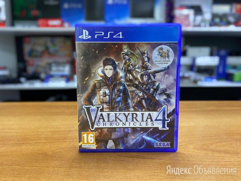 Valkyria Chronicles 4 - PS4 Б.У (Обмен) по цене 1000₽ - Игры для приставок и ПК, фото 0