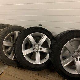 Шины, диски и комплектующие - Колёса Dunlop Winter Sport для Audi A4 липучка, 0