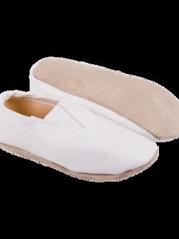 Обувь для спорта - Чешки классические 3436, кожзам, белые, р.32-34, 0