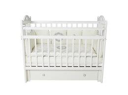 Кровати - Кровать детская с ящиком и маятником - Sofi, 0