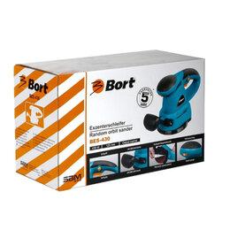Шлифовальные машины - Эксцентриковая шлифмашина Bort BES-430, 0
