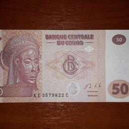 Банкноты - Банкнота Конго 50 франков 2013. Новая, 0