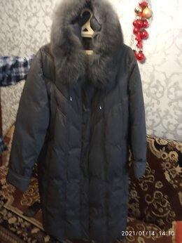 Пальто - пальто зимнее с капюшоном новое, 0