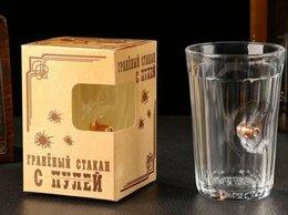 Бокалы и стаканы - Стакан , с пулей, граненый, 250 мл, 0