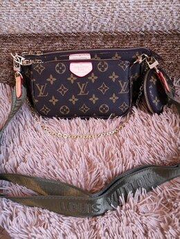 Сумки - Сумка 3 в 1 Louis Vuitton новая экокожа красивая, 0