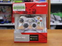 Игровые приставки - Джойстик проводной Xbox 360 Slim - Серебряный, 0