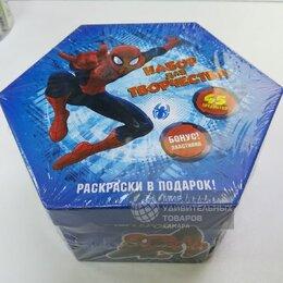 Рисование - Художественный набор Человек паук 48 предметов, 0