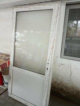 Входные двери - Дверь металлопластиковая 198х100, 0