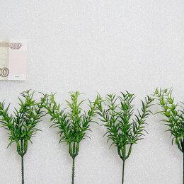 Растения для аквариумов и террариумов - Цена за 6шт. Новые растения искусственные., 0