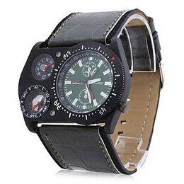 Наручные часы - Мужские кварцевые часы с компасом и градусником 00382537, 0