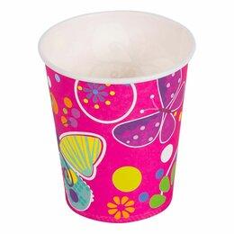 Бокалы и стаканы - Стаканы Бабочки, 6шт, 250мл, 0