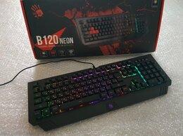 Клавиатуры - Игровая клавиатура A4Tech Bloody B120n Neon, 0