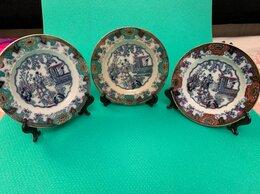 Декоративная посуда - Антикварные тарелки Canton ручной работы, 0