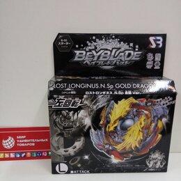 Игровые наборы и фигурки - Бейблэйд волчок Beyblade Longinus Gold Dragon, 0