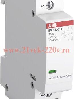 Реле - Модульный контактор ESB20-20N-06 модульный (20А…, 0