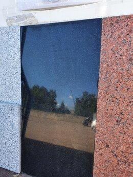 Облицовочный камень - Гранитная плитка. Гранит черный. 600х400х20 , 0