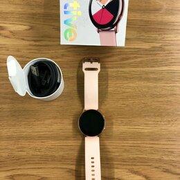Умные часы и браслеты - Умные часы Samsung Galaxy Watch Active, 0