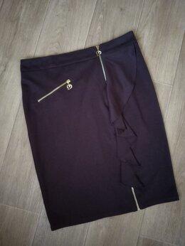 Юбки - Новая юбка с воланом 48 р., 0