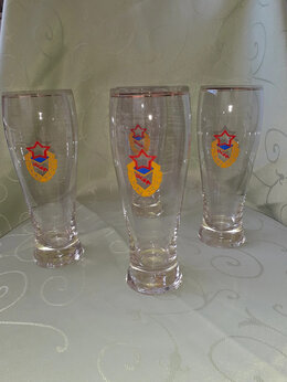 Бокалы и стаканы - Стаканы фанатские советские., 0