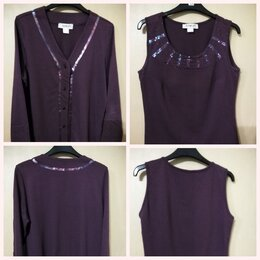 Блузки и кофточки - Двойка из плотного хлопка, 0