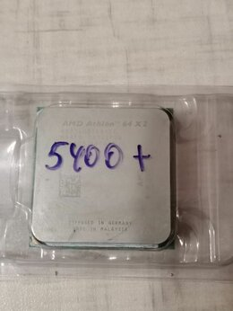 Процессоры (CPU) - Athlon X2 5400+ 2 ядра 2.8ГГц AM2, 0