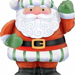Новогодние фигурки и сувениры - Шар Дед Мороз, 0