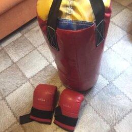 Боксерские перчатки - Боксерский мешок и перчатки, 0
