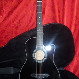 Акустические и классические гитары - Гитара 7\8 FFG-1038BK, 0