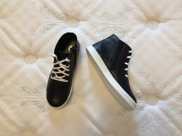 Ботинки - Новые, высокие кожаные ботинки для девочки Фома,…, 0
