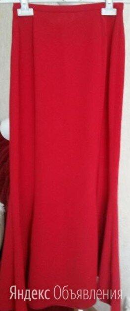 Юбка красная, макси, стильная по цене 1000₽ - Юбки, фото 0