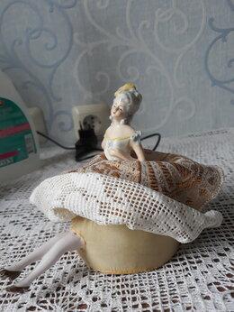 Интерьер - Антикварная кукла - игольница 1800года фарфор., 0