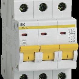 Аксессуары и запчасти - Выключатель автоматический ВА47-29 3Р 16А (С) ИЭК, 0