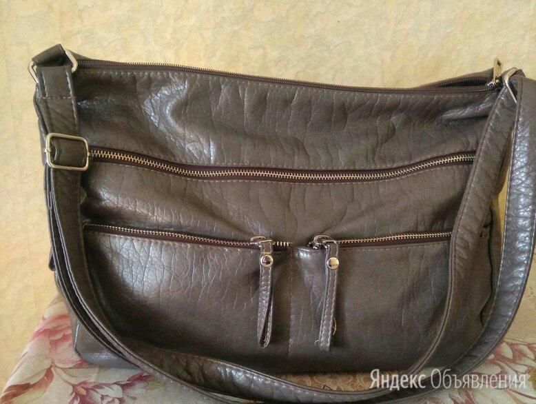 Женская сумка серого цвета по цене 1400₽ - Сумки, фото 0