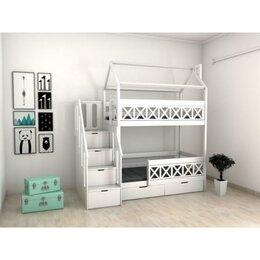 Кроватки - Кровать детская двухъярусная - Fulda с комодом и…, 0