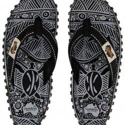 Домашняя обувь - Шлепки GUMBIES ISLANDER CANVAS BLACK SIGNATURE 2020, 0