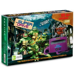 Ретро-консоли и электронные игры - Sega Super Drive Turtles (55-in-1) 16Bit, 0
