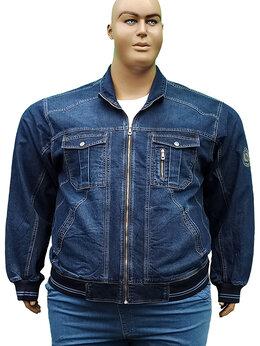 Куртки - Dekons мужская джинсовая куртка большого размера., 0