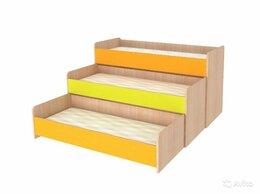 Диваны и кушетки - Детская кровать 3-х ярусная, 0