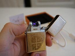 Пепельницы и зажигалки - Зажигалка USB гравировка Крест, 0