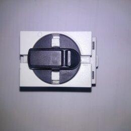 Электрические щиты и комплектующие - Рубильник трехполюсный ABB 25A с ручкой управления, 0