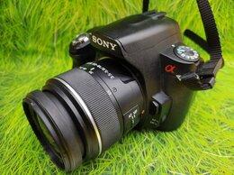 Фотоаппараты - Фотоаппарат Sony Alpha DSLR-A390 Kit, 0