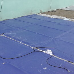 Уличные обогреватели - Термоматы для прогрева бетона и мерзлого грунта, 0