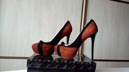 Туфли - Новые туфли из натур. замши Sandra Valery, 36 р-р, 0
