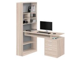 Компьютерные и письменные столы - Стол компьютерный со стеллажом 10.04, 0