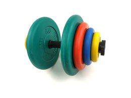 Гантели - Гантель разборная цветная 39 кг, 0