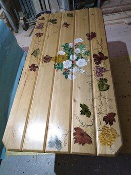 Столы - дорогой деревянный стол., 0