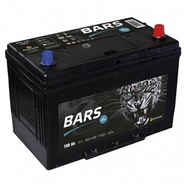 Аккумуляторы  - Аккумулятор Bars Asia 115D31L 100Ач 800А…, 0