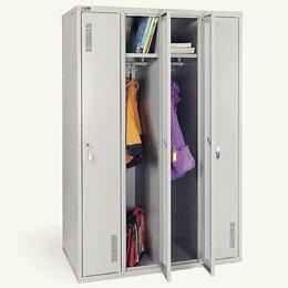 Мебель для учреждений - Шкаф для раздевалок металлический , 0