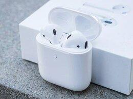 Наушники и Bluetooth-гарнитуры - Наушники Apple AirPods 2 LUX копия 1:1, 0